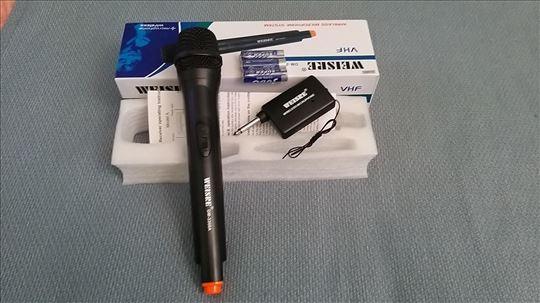 Wireles mikrofon, nov, fabričko stanje