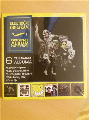 Električni Orgazam -kolekcija 6 originalnih albuma