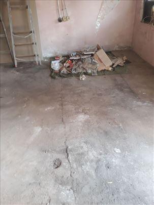 Besplatno čistimo napuštene stanove i krečenje