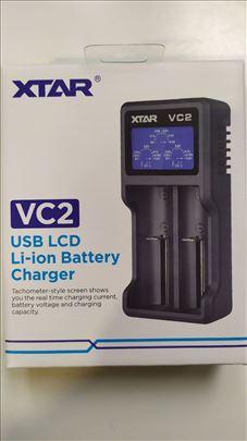 Punjac Baterija XTAR VC2 Li-Ion / IMR / INR / ICR