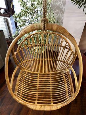 Visece stolice od prirodnog ratana (jaje, gnezdo)