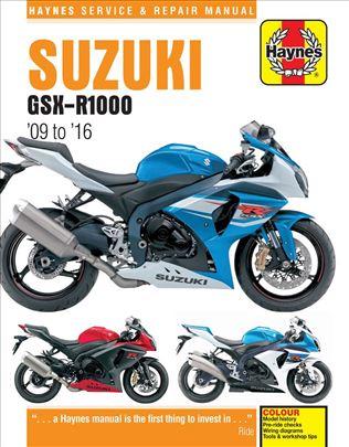 Suzuki,Kawasaki servisna uputstva na CD-u