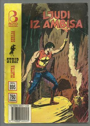 Zagor ZS 895 Ljudi iz ambisa