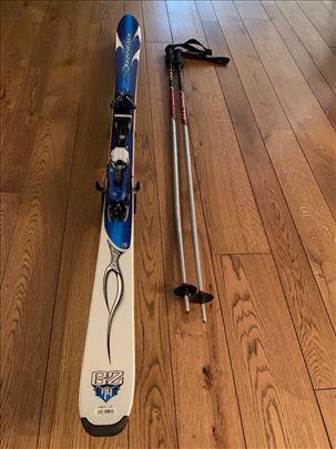Prodajem Rossignol skije sa pancericama i stapovim