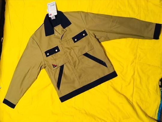 Radna jakna nemačka BP -pesak plava 44-46 vel.-nov