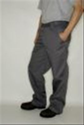 Radne pantalone RUSSELL nove sive - eu 56 ,o-118cm