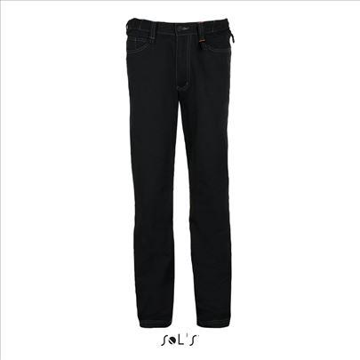 Sol'S nov radne pantalone crne francuske Speed Pro