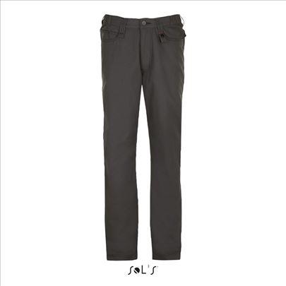 Sol'S nov radne pantalone Francuske sive Speed Pro