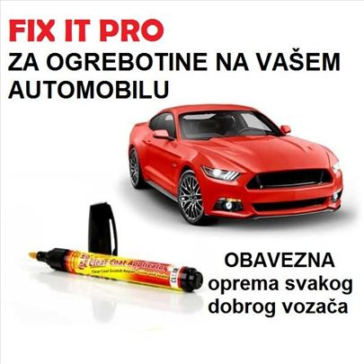FIX IT PRO ZA OGREBOTINE NA AUTOMOBILU