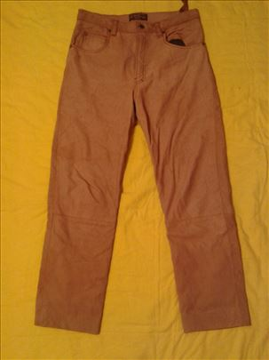 Kožne pantalone sa postavom , nemačke , vel 48