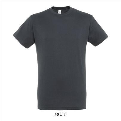 nove majice pamučne SIVE Francuske M vel-naše L-XL