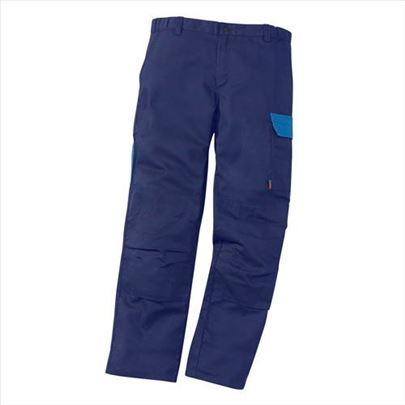 Nove radne pantalone A. LAFONT navy-teget boje 3XL