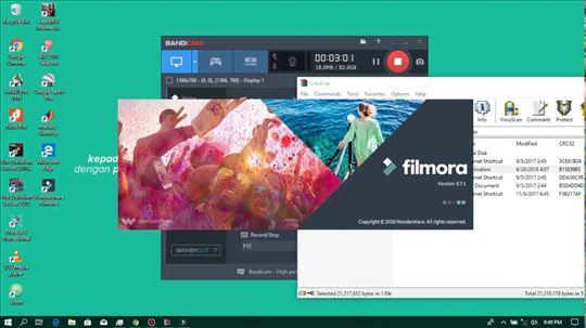 Wondershare Filmora 8.7.1.4 Full program za edit