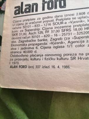 34 godine stari stripovi, Hrvatska izdanja