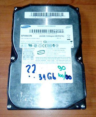 HDD (90) Samsung 80 Gb - Ata