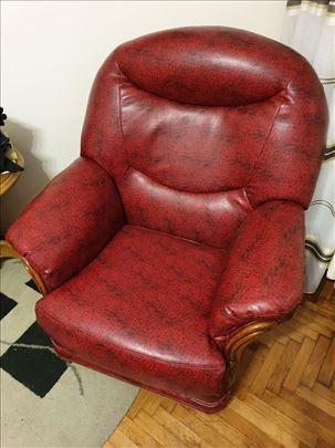 Natuzzi italijanska fotelja, kao nova, izuzetna