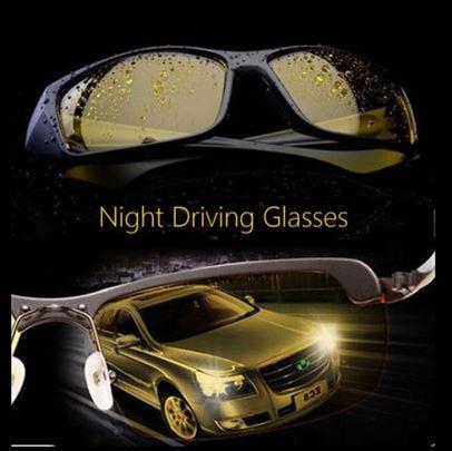 Naočare za noćnju vožnju, bicikliste, anti-refle