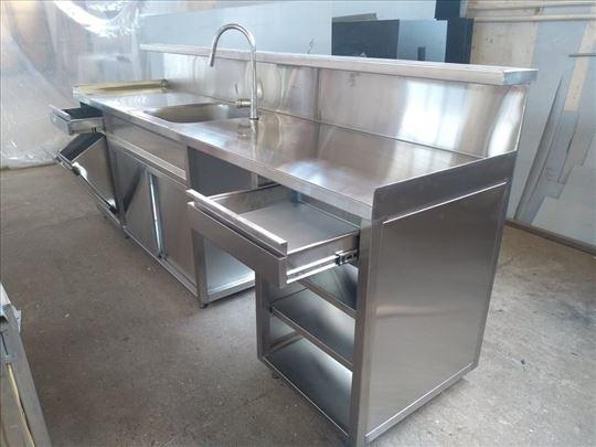Hladni stolovi i sudopere za ugradnju u šankove