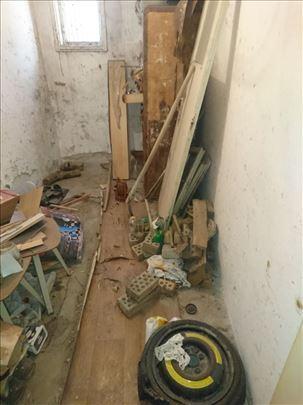 Čišćenje stanova dvorišta garaža tavana podruma