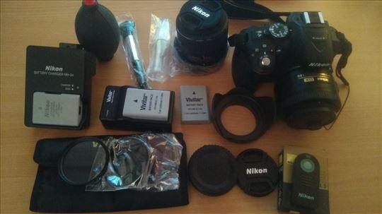 Nikon D5300 komplet!