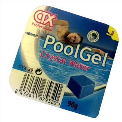 Sredstvo za bistrenje vode u bazenu