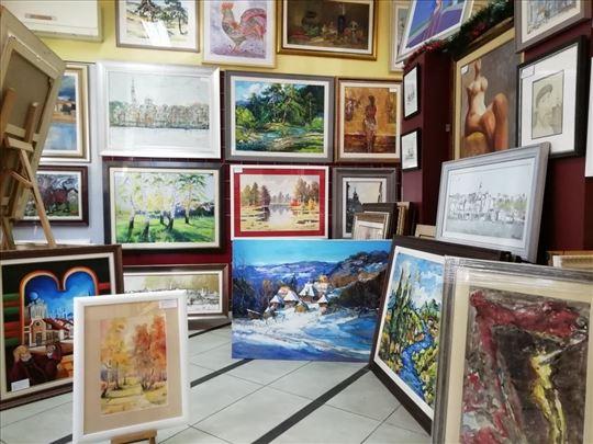Uramljivanje - Atelje galerije Art Idea