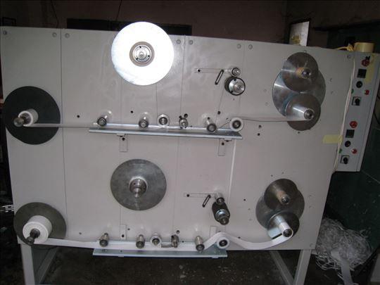 Mašina za premotanje silikoniziranog papira leplj.