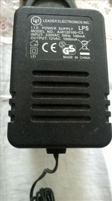 AC adapter (Trafo) LEI 220/12 V AC 12 VA bez ispr