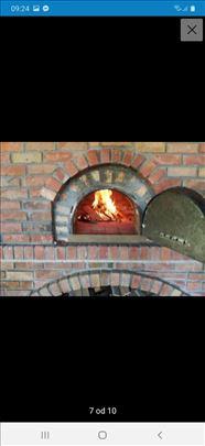 Pizza peći zidamo veličinu koja vama odgovara