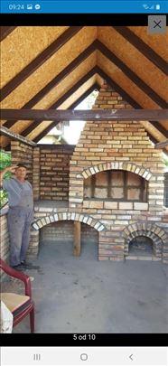 Rostilji zidani za vas dom