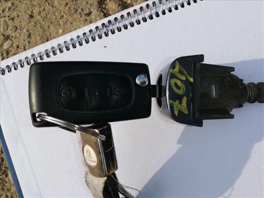 Cilindar sa ključem za peugeot 407