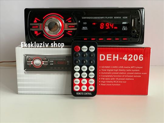 Auto radio mp3 plejer,usb,sd,aux,euro džek