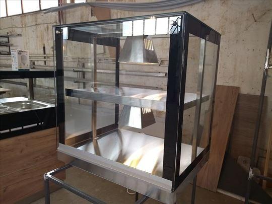 Topla vitrina 70x60x85cm - novo