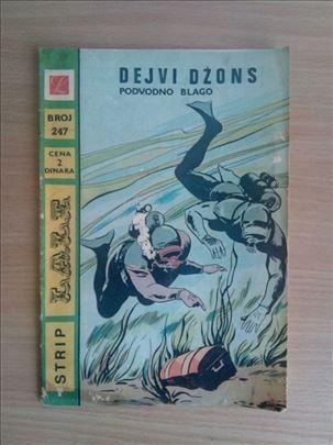Strip Lala 247 - Dejvi Džons - Podvodno Blago