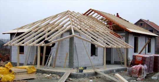 Postavljanje novih i popravke starih krovova