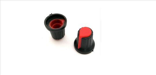 Kapica za potenciometar crvena