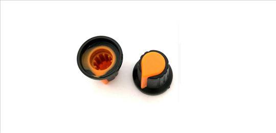 Kapica za potenciometar narandžasta