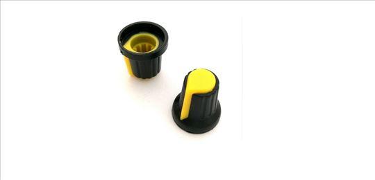 Kapica za potenciometar žuta