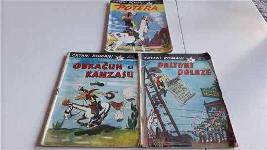 Talicni Tom 3 stripa iz 60-ih RETKO kolor i crno b