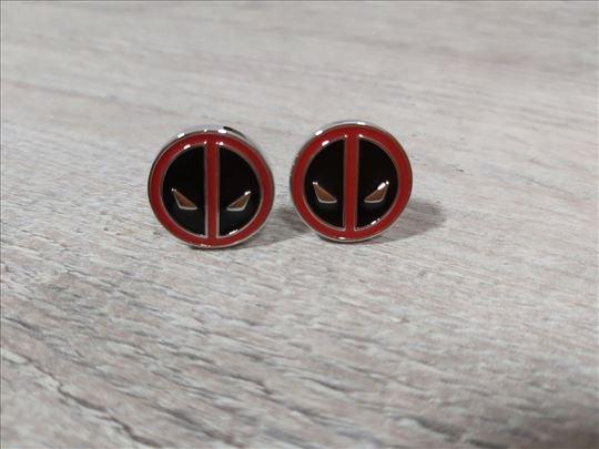 Deadpool dugmad za manžetne, povoljno
