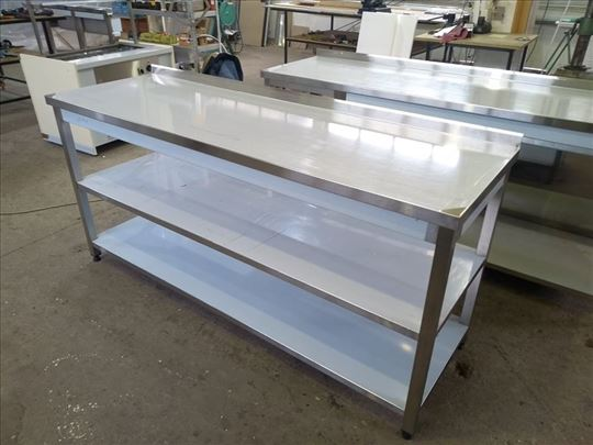 Inox radni i hladni stolovi po naručenim merama