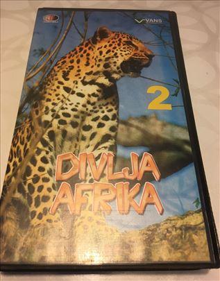 Vhs Divlja Afrika/dok.film