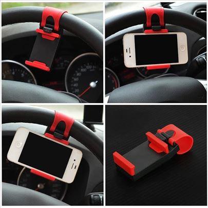 Držač mobilnog telefona za volan automobila