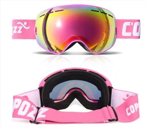 Naočare za skijanje - pro ski Copozz - Pink