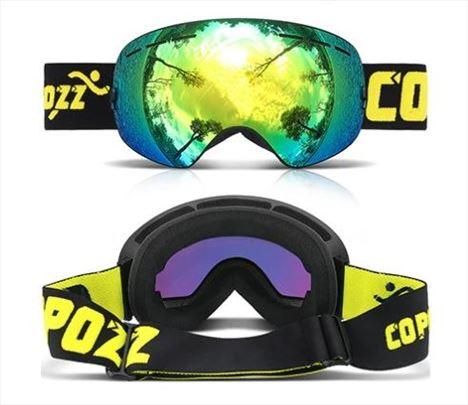 Naocare za skijanje - pro ski Copozz - Zlatno