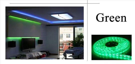 Zelena LED traka , 5 metara, 12v - NOVO