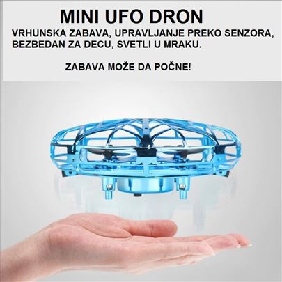 Senzorski UFO Drone - NOVO