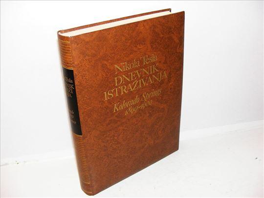 Dnevnik istraživanja Kolorado Springs 1899-1900