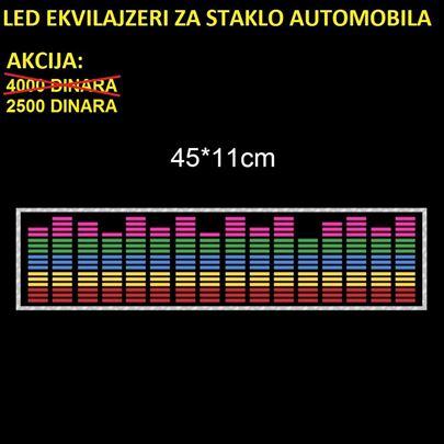 LED ekvilajzeri za staklo automobila - AKCIJA