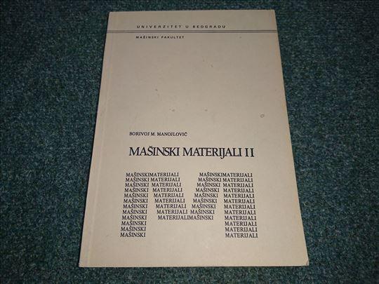 Mašinski materijali II - Borivoje Manojlović